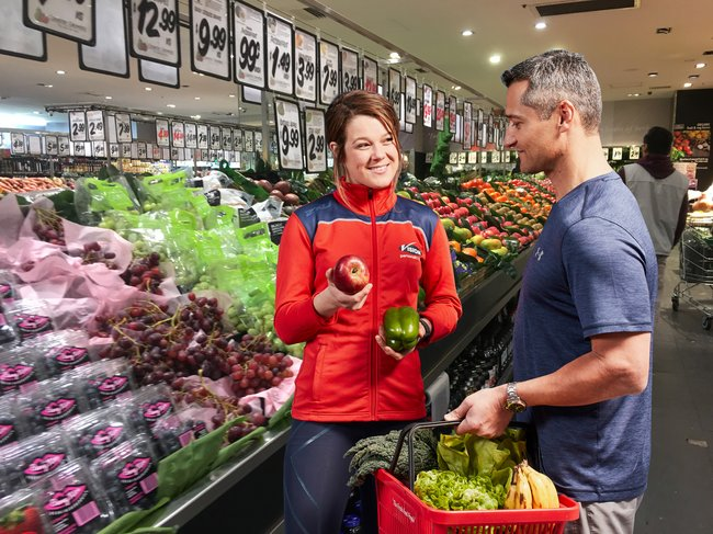 supermarket grocery shopping - top superfoods of 2018