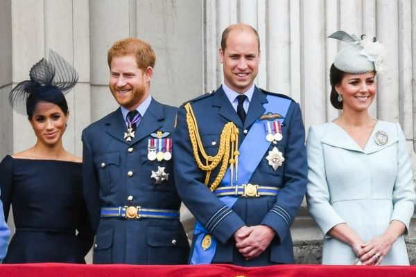 Meghan, Harry, Will, Kate