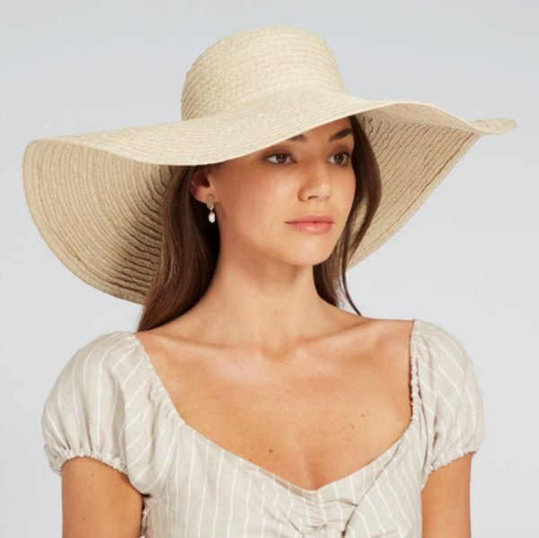 seed straw hat