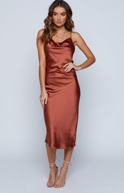 Make The Silk Slip Dress Your New Year S Eve Outfit With