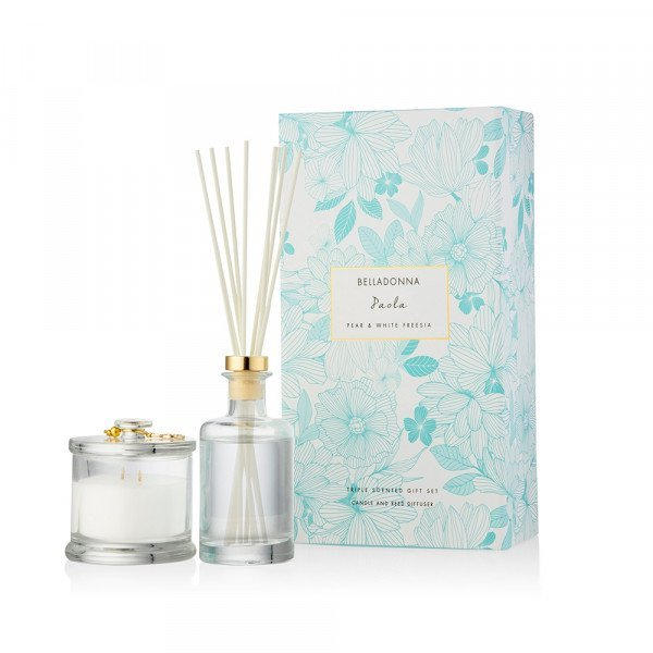 Dusk Paola Pear & White Freesia Belladonna Gift Set