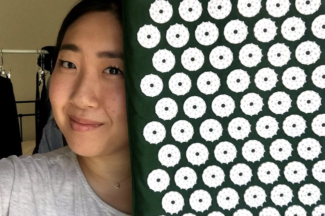 Shakti Mat Review The Acupressure Mat Was Painful But