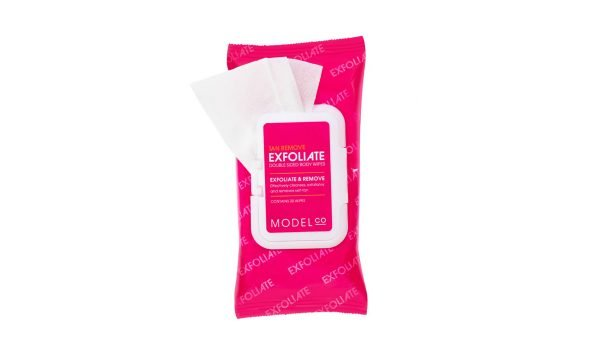 model-co-exfoliating-wipes