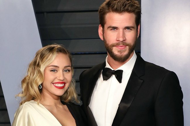 All the photos from Liam Hemsworth Miley Cyrus wedding.