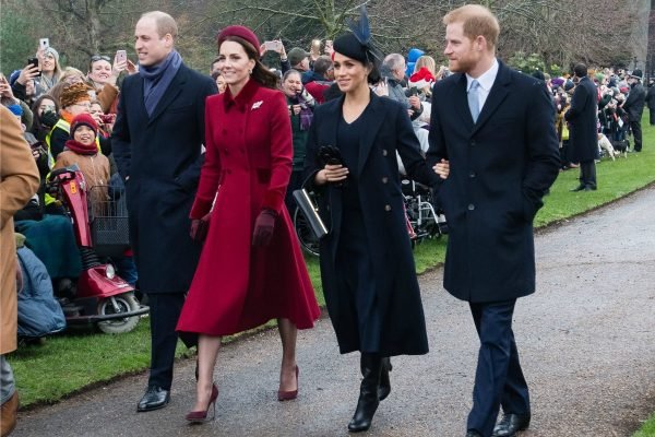 Meghan Markle Kate royal Christmas