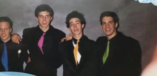 celebrity school formal throwback