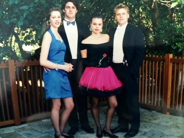 Mia Freedman Instagram school formal throwback