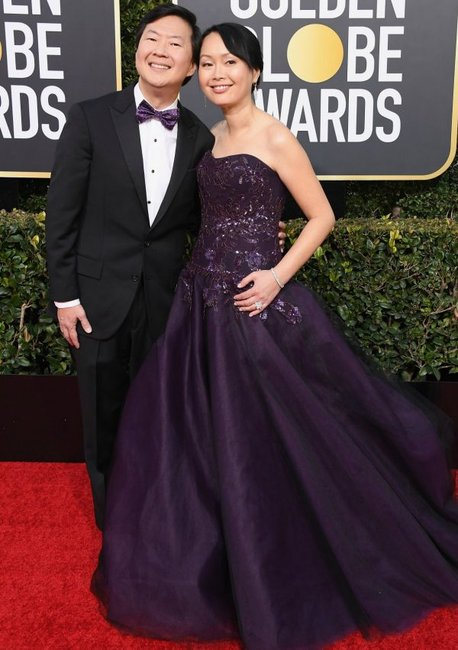 golden globes 2019 red carpet fashion Crazy Rich Asians