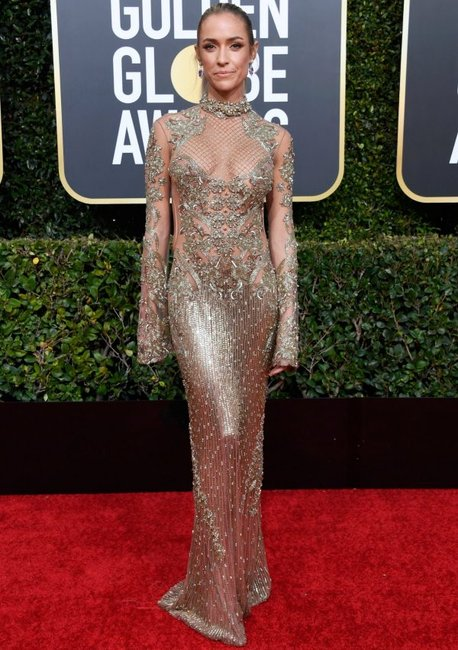golden globes 2019 red carpet fashion Kristin Cavallari