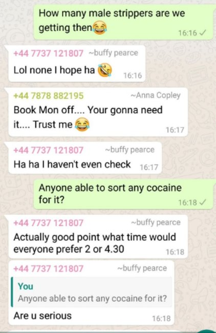 Hilarious conversation after a mistaken addition to WhatsApp