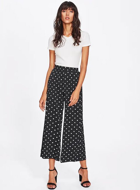 fb212e5425 The wide-legged, cropped work pants women need in their closet.