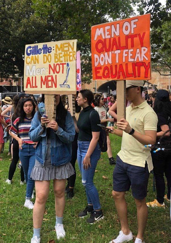 Sydney Womens March 2019 signs