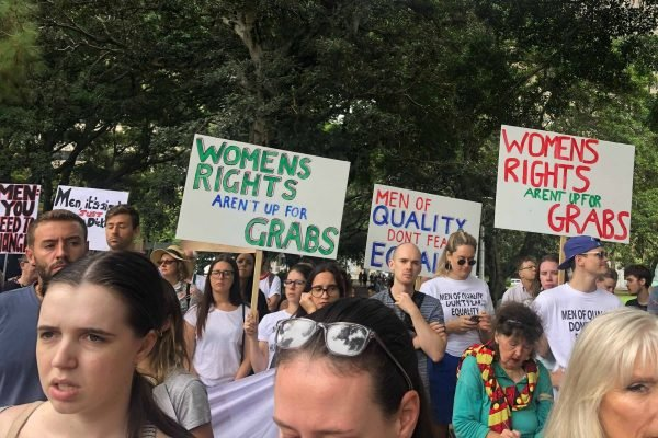 Sydney Womens March 2019 signs