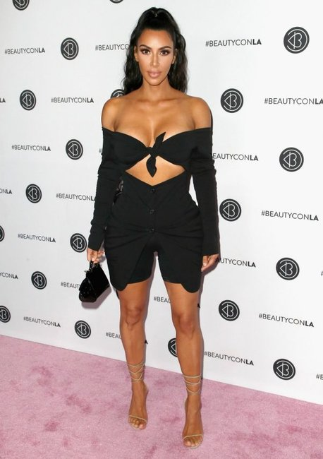 Kim Kardashian bike shorts