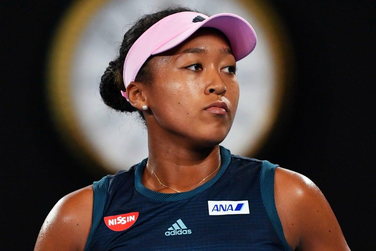 Naomi Osaka Australian Open Tony Jones