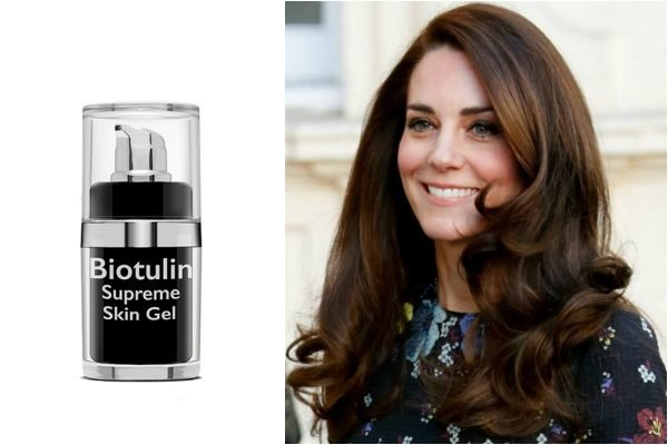 Kate Middleton news biotulin skincare