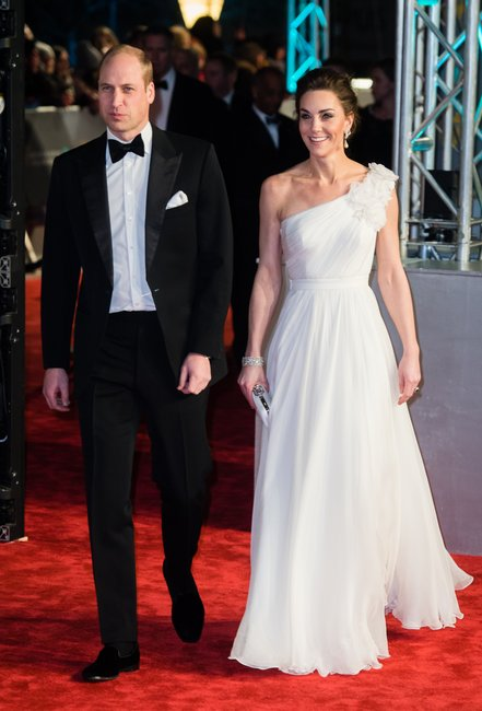 prince william and kate middleton BAFTA Awards 2019