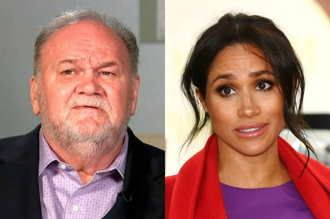 meghan markle letter to father