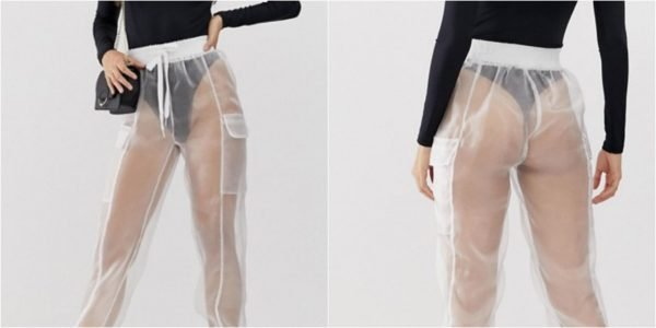 ASOS have released a pair of see-through pants… we have 5 questions pls.