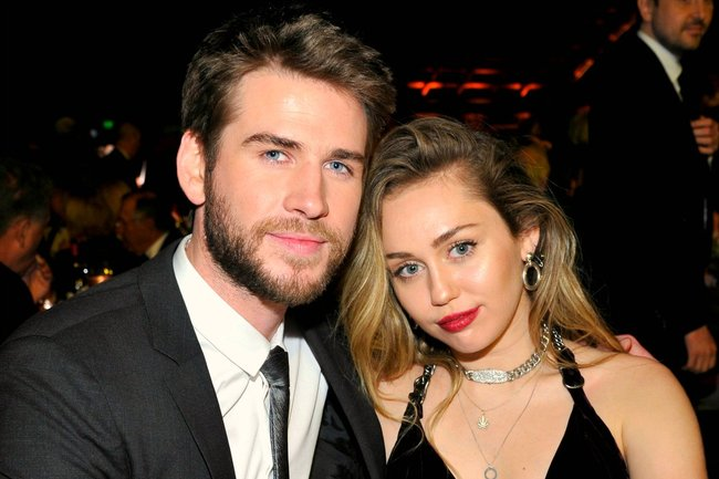 Image result for miley-cyrus-and-liam-hemsworth