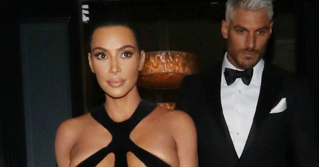 Kim Kardashian Fashion The Naked Dress To End All Naked