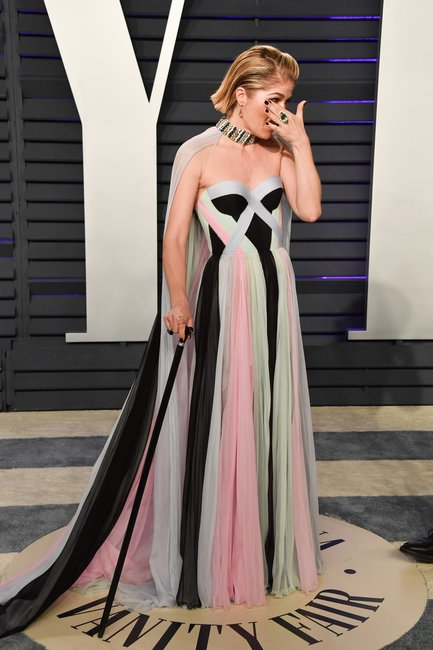selma blair vanity fair oscar party