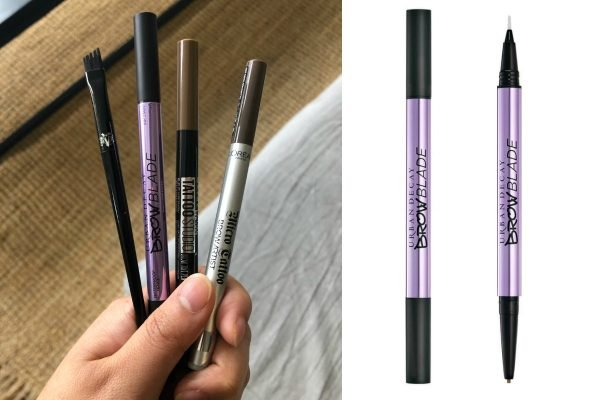 Urban Decay Brow Blade review microblading pens