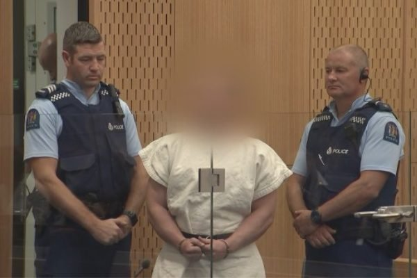 The man accused of the Christchurch mosque attack has pleaded not guilty in court.