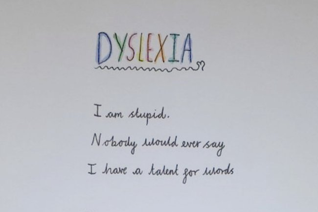 """That's brilliant."" 10-year-old's powerful poem about dyslexia goes viral for a wonderful reason."