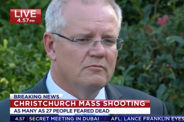 Scott Morrison Christchurch shootings