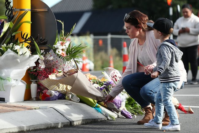 Christchurch shooting video