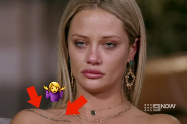 We've figured out what MAFS Jessika Power's tattoo says. And it explains a lot.