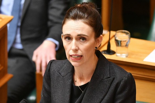 jacinda ardern press conference