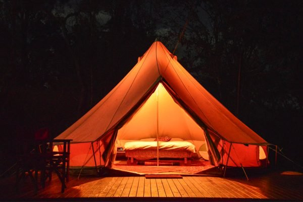 airbnb glamping nsw