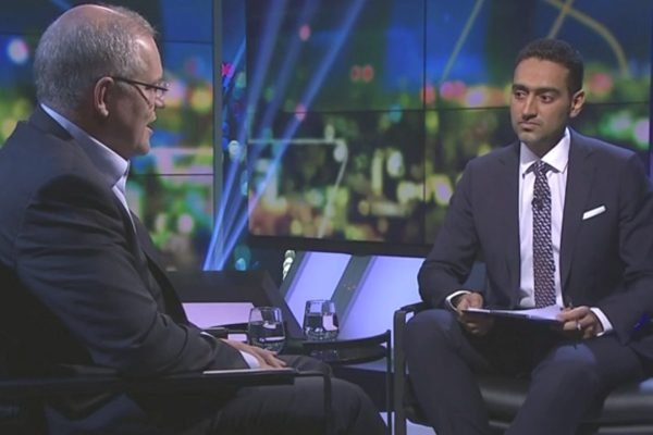 """""""Does the party have an Islamophobia problem?"""" Waleed Aly's interview with Scott Morrison."""