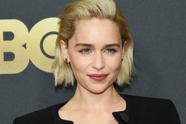 """Emilia Clarke says just as her dreams were coming true, """"I nearly lost my mind, then my life."""""""