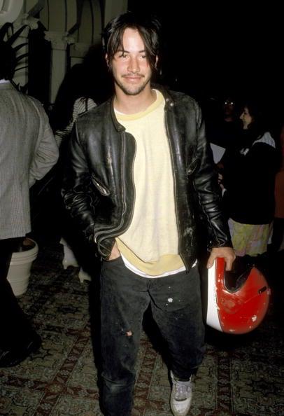 Keanu Reeves, 1989. Image: Getty.