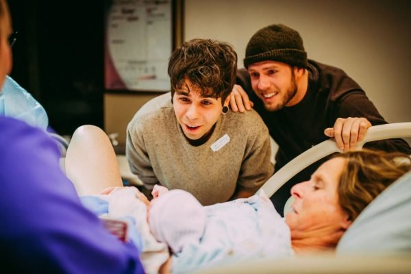 grandmother gives birth to grandchild