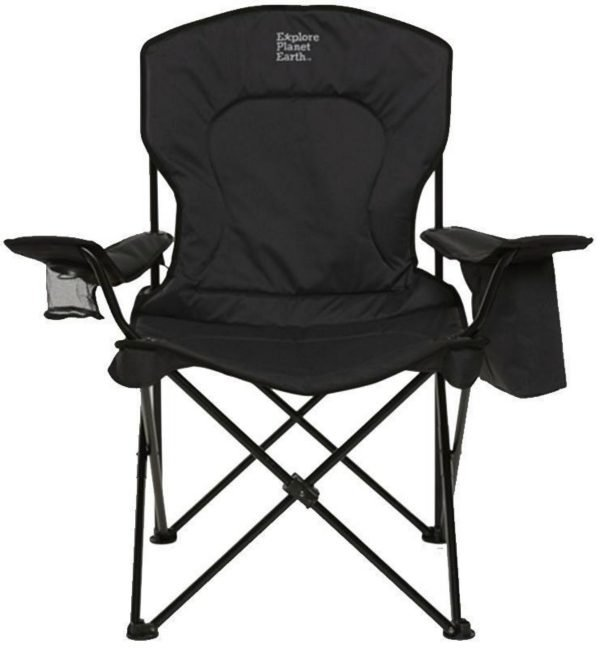 heated camp chair
