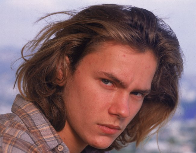 River Phoenix. Image via Getty.