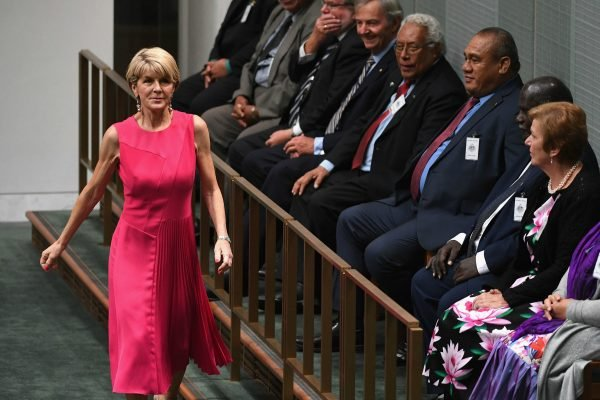 A colleague once told Julie Bishop how to dress. She didn't listen for long.