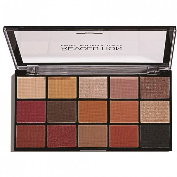 REVOLUTION BEAUTY Re-Loaded Eyeshadow Palette Iconic Vitality