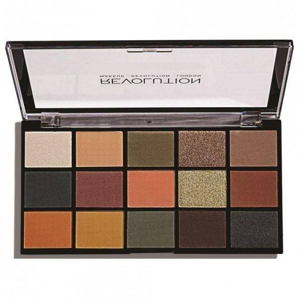 REVOLUTION BEAUTY Re-Loaded Eyeshadow Palette Iconic Division