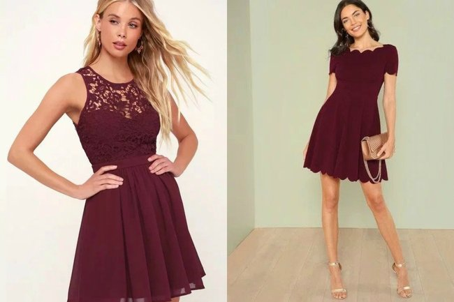 maroon bridesmaid dress suggestions