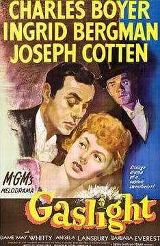 The 1944 film 'Gaslight.'