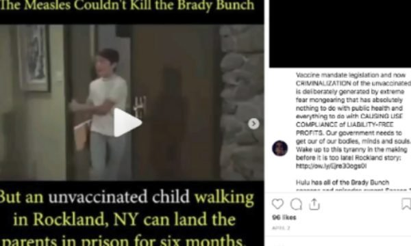 brady bunch measles