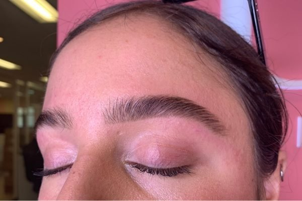 bushy eyebrows after