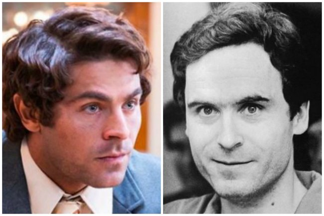 How Netflix's Ted Bundy movie cast look like in real life