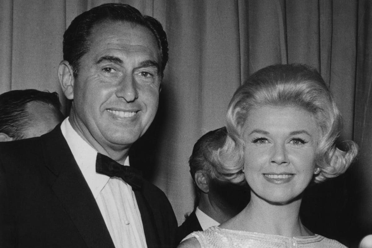 Martin Melcher and Doris Day
