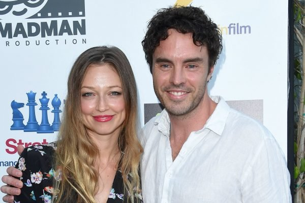 Damon Gameau with wife, Zoe Tuckwell-Smith. Image via Getty.